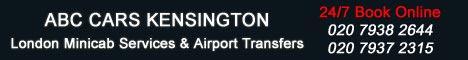 Kensington Minicab Gatwick Airport Transfer